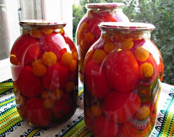 Алыча с помидорами