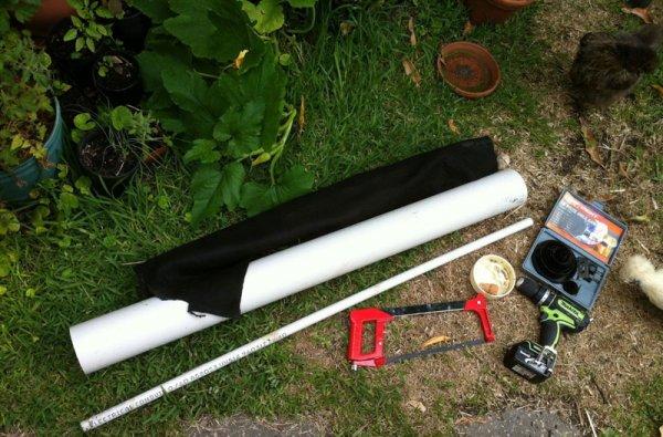 Инструменты для изготовления грядок из труб