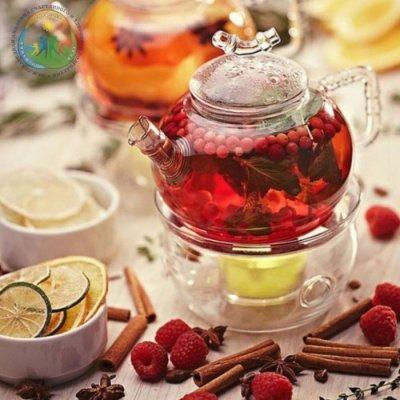 Чай из листьев и ягод брусники