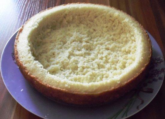 Заготовка из бисквита