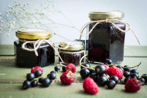Варенье из малины и смородины