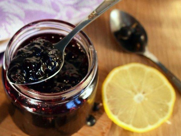 Варенье из смородины с лимоном