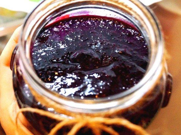 Варенье из черники без сахара
