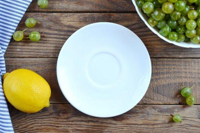 Крыжовник и лимон