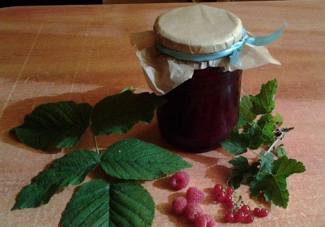 Варенье из смородины и малины