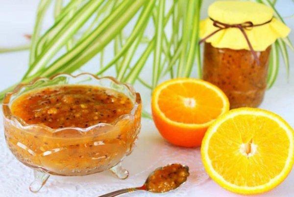 Варенье их крыжовника с апельсином и лимоном