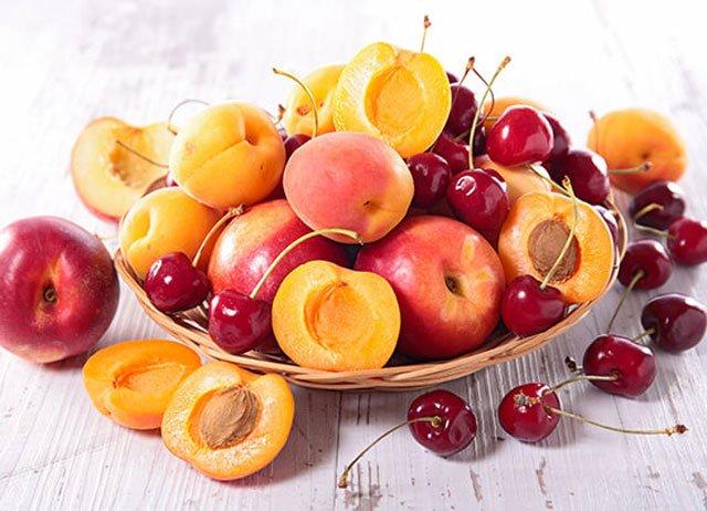 Черешня и абрикосы