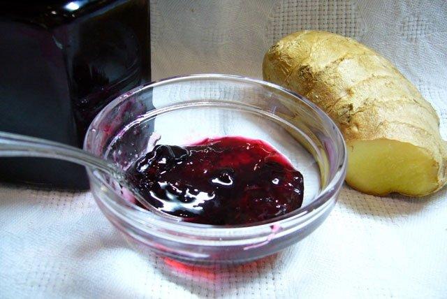 Варенье из черной смородины с имбирем