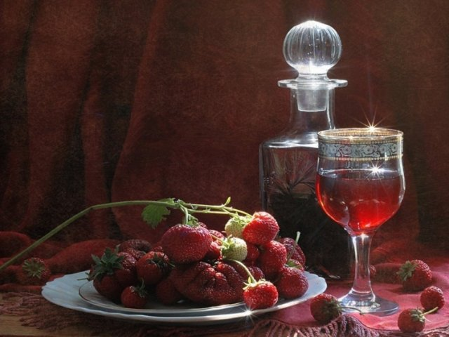 Вино из земляники