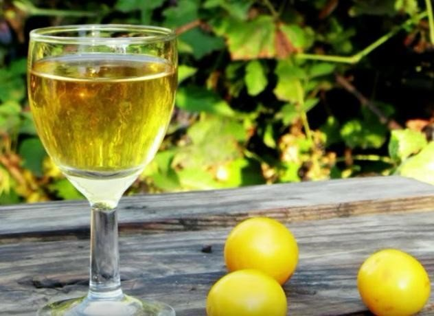 Вино из алычи