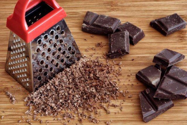 Шоколад на терке