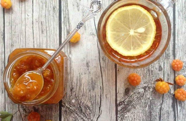 Варенье из морошки с лимоном