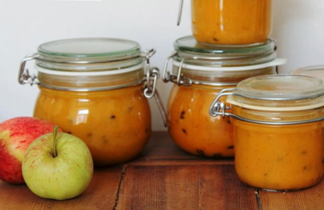 Облепиха с яблоками