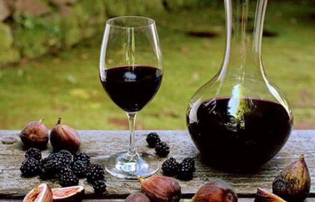 Вино из ягод шелковицы
