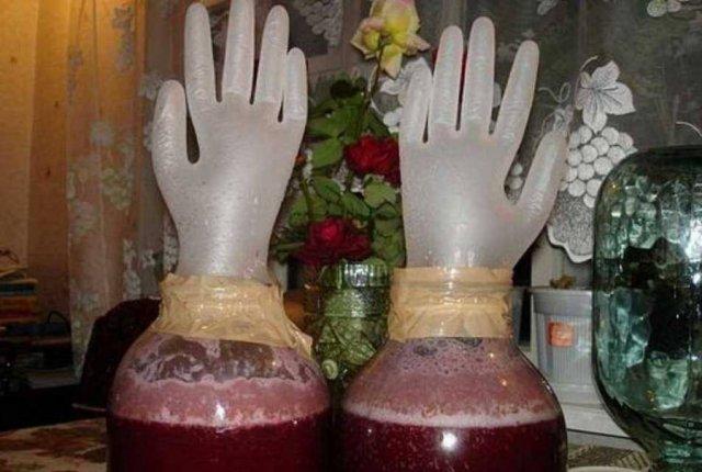 Гидрозатвор для домашнего вина