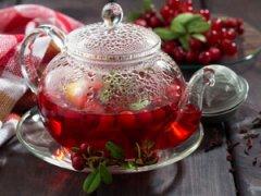 Брусничный чай