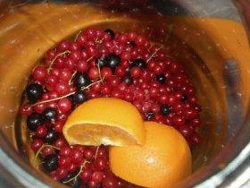 Варенье из смородины и апельсина